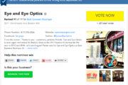 Help Us Win Best Eyewear Boutique!