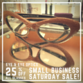 Get 25% off ALL glasses on Small Business Saturday